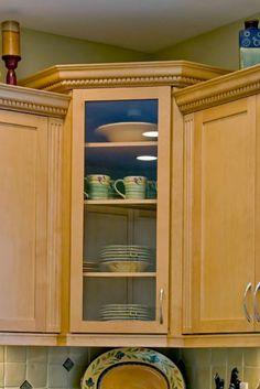 The Small Kitchen Appliance Storage Ideas Kitchen Inspiration, China Cabinet, Kitchen Cabinets, Corner, Space, Storage, Awesome, Furniture, Ideas