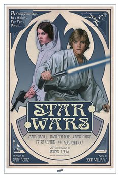 Celebration V print by Russell Walks by Official Star Wars Blog, via Flickr