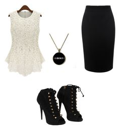 """Untitled #20"" by aricari1301 ❤ liked on Polyvore featuring Giuseppe Zanotti, Alexander McQueen, women's clothing, women, female, woman, misses and juniors"