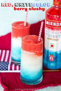 A fun summer twist on our slushy cocktail recipe, these Red, White and Blue Berry Slushies are a patriotic way to cool down this 4th of July. Patriotic Berry Slushie Recipe Slushy cocktails are one of my favorite options for entertaining. They are refreshing yet simple, and always give a bit of wow factor to …