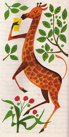 giraffe from 366 Goodnight Stories (1963)