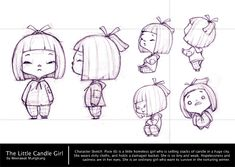girl ✤ || CHARACTER DESIGN REFERENCES | Find more at https://www.facebook.com/CharacterDesignReferences if you're looking for: #line #art #character #design #model #sheet #illustration #expressions #best #concept #animation #drawing #archive #library #reference #anatomy #traditional #draw #development #artist #pose #settei #gestures #how #to #tutorial #conceptart #modelsheet #cartoon #toddler #baby #kid