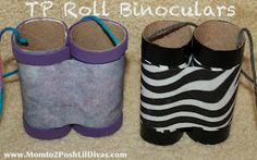 TP Roll Binoculars & A Nature Walk = a fun and easy summer activity