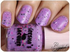 Leesha's Lacquer - Life of the Party Crelly Indie Nail Polish