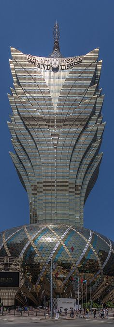 Grand Lisboa Casino.  MACAO - Special Administrative Region of CHINA   (by davidcl0nel)
