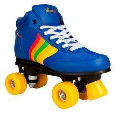 By Olis With Matching Skate Bag Rio Roller Quad Roller Skates Rose Black