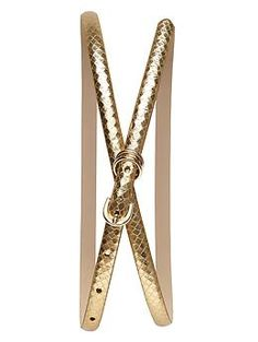 @Commandress Fashion Flashback - belts for any occasion