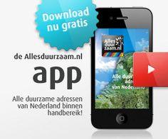 Allesduurzaam nu ook mobiel beschikbaar. Download nu de gratis app. Met deze handige app van Allesduurzaam vind je in een handomdraai elk ...