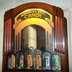 Antique Art Deco Vending Machine
