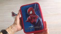 Spiderman penalhus med 2 rum og indhold