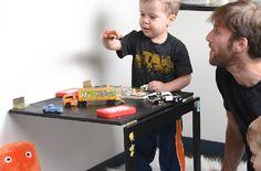 DIY Multipurpose Folding Table | Real Moms