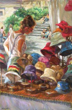 M C nica Castanys Spanish Impressionist Figurative painter Tutt Art@ () American Impressionism, Street Painting, Figure Painting, Figurative Art, Spanish Painters, Oeuvre D'art, Female Art, Art Images, Photo Art