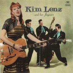 Kim Lenz and her Jaguars