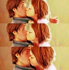 Probably my favorite Disney kiss ever!!!