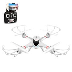 DBPOWER MJX X400W FPV RC Quadcopter Drone with Wifi Camera Live Video One Key Return Function Headless Mode 2.4GHz 4 Chanel 6 Axis Gyro RTF, Compatible with 3D VR Headset - http://www.midronepro.com/producto/dbpower-mjx-x400w-fpv-rc-quadcopter-drone-with-wifi-camera-live-video-one-key-return-function-headless-mode-2-4ghz-4-chanel-6-axis-gyro-rtf-compatible-with-3d-vr-headset/