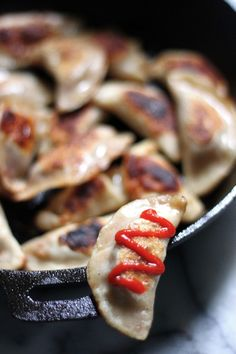 Italian Sausage, Pepper, and Onion Dumplings