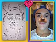 Havent drawn in awhile but heres a recent one! Me drawing Ethan Dolan aka my baee😂❤️not rlly but i wish xDDD U Want, Ethan Dolan, My Drawings, Thats Not My