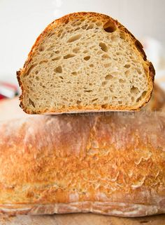 Il palatone, il  pane cafone con lievito madre