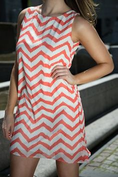 Jodi Chevron Dress $37.50 use the COUPON CODE 'rachelcamp' for 5% off every order!! http://www.escloset.com/idevaffiliate/idevaffiliate.php?id=115=53