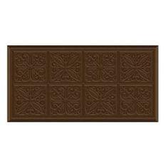 Amazon.com: Tin Panels Foam Comfort Mate Mats Kitchen Anti Fatigue Floor Mat Rug: Chocolate Brown: Everything Else Kitchen Mats, Kitchen Dining, Dining Room, Floor Mats, Chocolate Brown, Tin, Area Rugs, Flooring, Amazon