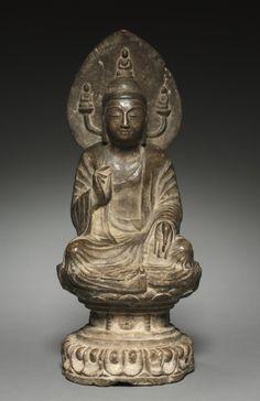 Sakyamuni Buddha, late 500s-early 600s China, Sui dynasty (581-618)