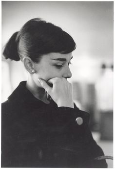 Audrey Hepburn photographed by David Seymour during rehearsals for the Funny Face, Paris, 1956. From Audrey Hepburn's Personal Collection.