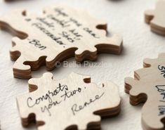 Custom 10140 piece WOOD Puzzle Wedding Guest by BellaPuzzlesToo, $80.00