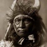 """""""When the blood in your veins returns to the sea, and the earth in your bones returns to the ground, perhaps then you will remember this land does not belong to you, it is you who belong to this land""""   native american   chief   sioux   brave   horns   american indian   wisdom   culture   portrait   wild   tribe   bull chief   custom  """