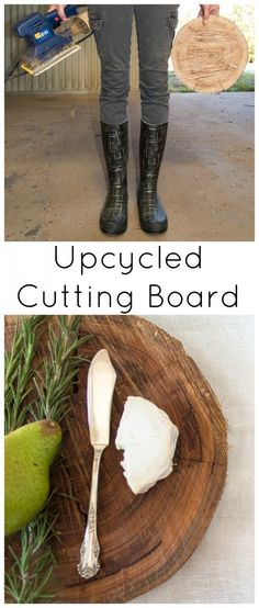 Dyi Upcycled Cutting Board