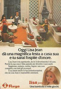 X7550-Festa-nella-casa-di-Lisa-Jean-Furga-Pubblicita-1977-Vintage-Advert