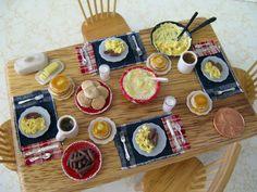 Country Breakfast -   Pamela J Minis