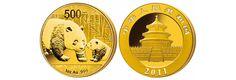 China Panda Goldmünzen Ankauf