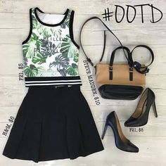 We love this cute and chic #ootd from our Harwood Heights store! We have a huge selection of skirts and tanks to make every outfit  http://ift.tt/2b3R3ED - http://ift.tt/1HQJd81