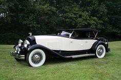 1931 Du Pont Model H Merrimac Sport Phaeton- Du Pont Motors, Inc. Moore, PA 1915-1932
