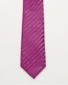 Le Château: Silk Stripe Tie