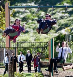 Glee behind the scenes season 2. Even adults need to swing form time to time.