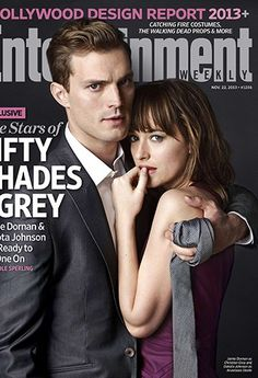 Jamie Dornan & Dakota Johnson: 'Fifty Shades of Grey' Movie First Photos! Check out this very first look of Jamie Dornan as Christian Grey and Dakota Johnson as Anastasia Steele in Fifty Shades of Grey on the new cover of Entertainment… Entertainment Weekly, Entertainment Tonight, Christian Grey, Christian Women, Dakota Johnson, Jamie Dornan, Shades Of Grey Film, Fifty Shades Darker, It Movie Cast