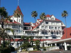 One of my favorite Hotels...The Hotel Del Coronado. ...I have stayed here a few time and I always love it