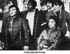 Here Comes the Double Deckers was a kid's programme which aired in the early 70's.  It was a rare sight back then to see a young black man on tv.  He is Brinsley Forde who went on to become the front man for Aswad, a very successful UK Reggae group.