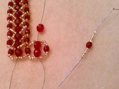 The Beading Gem's Journal: Spiral Stitch Beaded Jewelry Tutorials