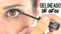 Cómo delinear los ojos fácilmente. How to use eyeliner easily. Comment dessiner vos yeux facilement.  https://www.facebook.com/bagatelleoficial Bagatelle Marta Esparza #eyeliner