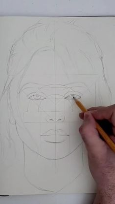 logo drawings easy Drawing from shapes by / Guess who is she before the video ends! Art Drawings Sketches Simple, Girl Drawing Sketches, Dark Art Drawings, Pencil Art Drawings, Easy Drawings, Sketch Painting, Cool Sketches, Realistic Drawings, Sketch Art