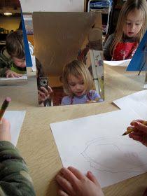 art and soul preschool: Self Portraits
