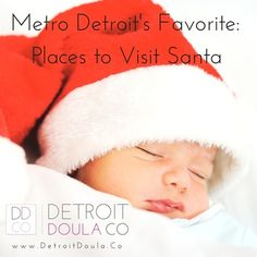 Metro Detroit's favorite spots to visit santa