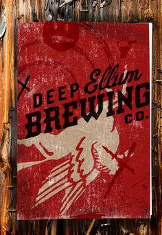 Deep Ellum Beer Poster