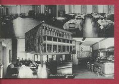 Montague Michigan Muskegon Franklin Hotel Motel Inn Rppc Postcard Picture