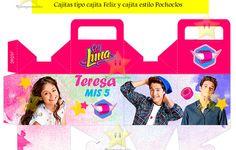 Kit Imprimible Candy Bar Soy Luna Golosinas Cumples Y Mas - $ 54,89