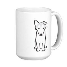 Collie Dog Cartoon Mug