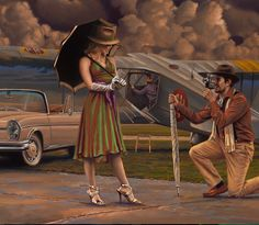 close-up detail of AIR ADVENTURES by Peregrine Heathcote