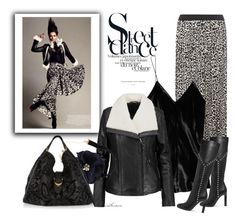 """""""Street Dance"""" by arethaman ❤ liked on Polyvore featuring Dorothy Perkins, T By Alexander Wang, Mackage, Lydell NYC, Yves Saint Laurent, Gucci and winterstyle"""